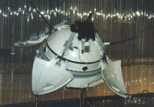 Mars 3 Lander model at the Memorial Museum of Cosmonautics in Russia.  Photo credit: NASA