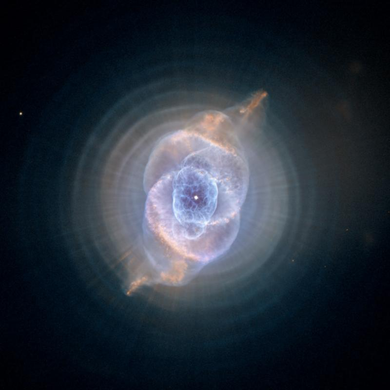 The Cat's Eye nebula. Credit: ESA, NASA, HEIC and The Hubble Heritage Team (STScI/AURA)
