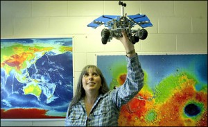 Where to land Mars Curiosity for the best science? Interview with Marion Anderson, who helped choose the landing site.