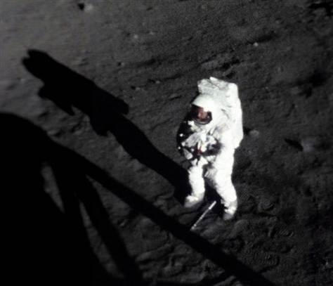 Apollo 11 Neil Armstrong on the Moon