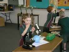 A young scientist at work during National Science Week