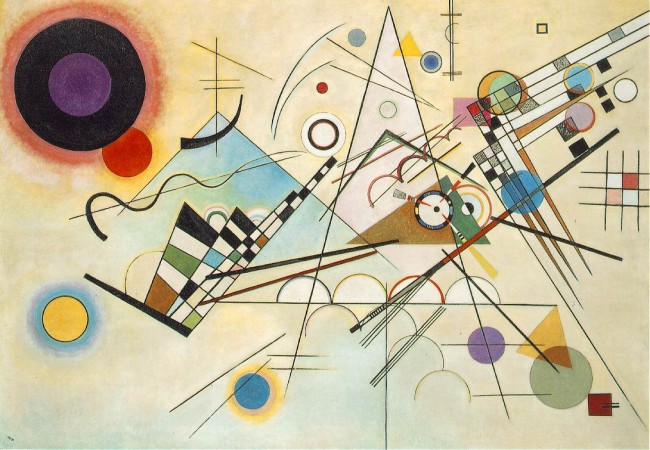 "Kandinsky: ""Composition 8"""