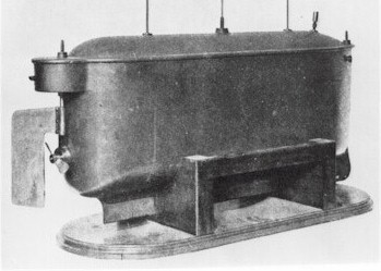 Tesla's radio controlled boat. Source Wiki Commons