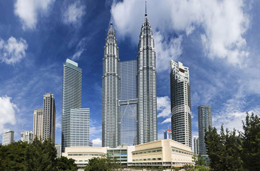 Just imagine how much power the Petronas towers could generate...