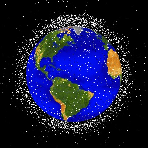 Thousands of objects surround Earth, but one Australian archaeologist argues care must be taken before getting rid of them. Credit: NASA Orbital Debris Program Office