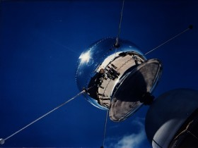 One of NASA's Vanguard satellites. Vanguard 1, launched in 1958, remains the oldest human object in orbit. Credit: NASA
