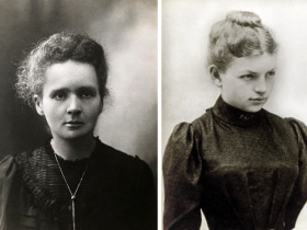 Marie Curie (left) and Clara Immerwahr (right). Two extremely talented women with vastly different stories.